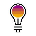 281018 Light Bulb R Purple