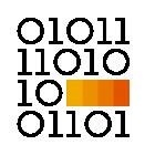 281281 Binary Code R Orange