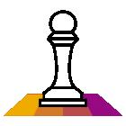 281421 Chess Piece R Purple