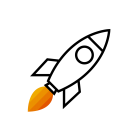 282556 Rocket R Orange