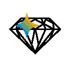 282980 Diamond R Blue