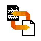 284533 Data Sharing Binary Code R Orange