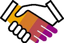 281560 Handshake R Purple